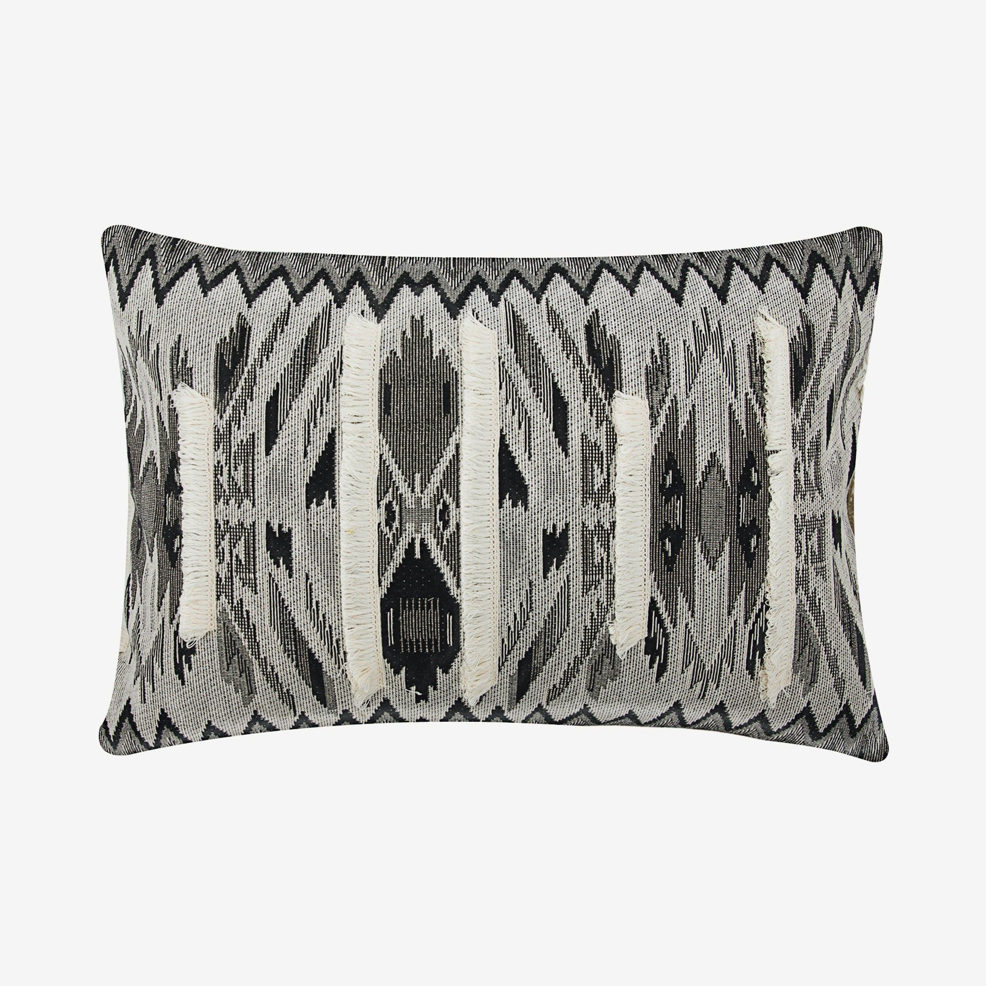 Decorative Oblong Lumbar Rectangle Throw Pillow Cover Couch Etsy In 2020 Throw Pillow Cover Couch Brown Decorative Pillows Embroidered Cushions
