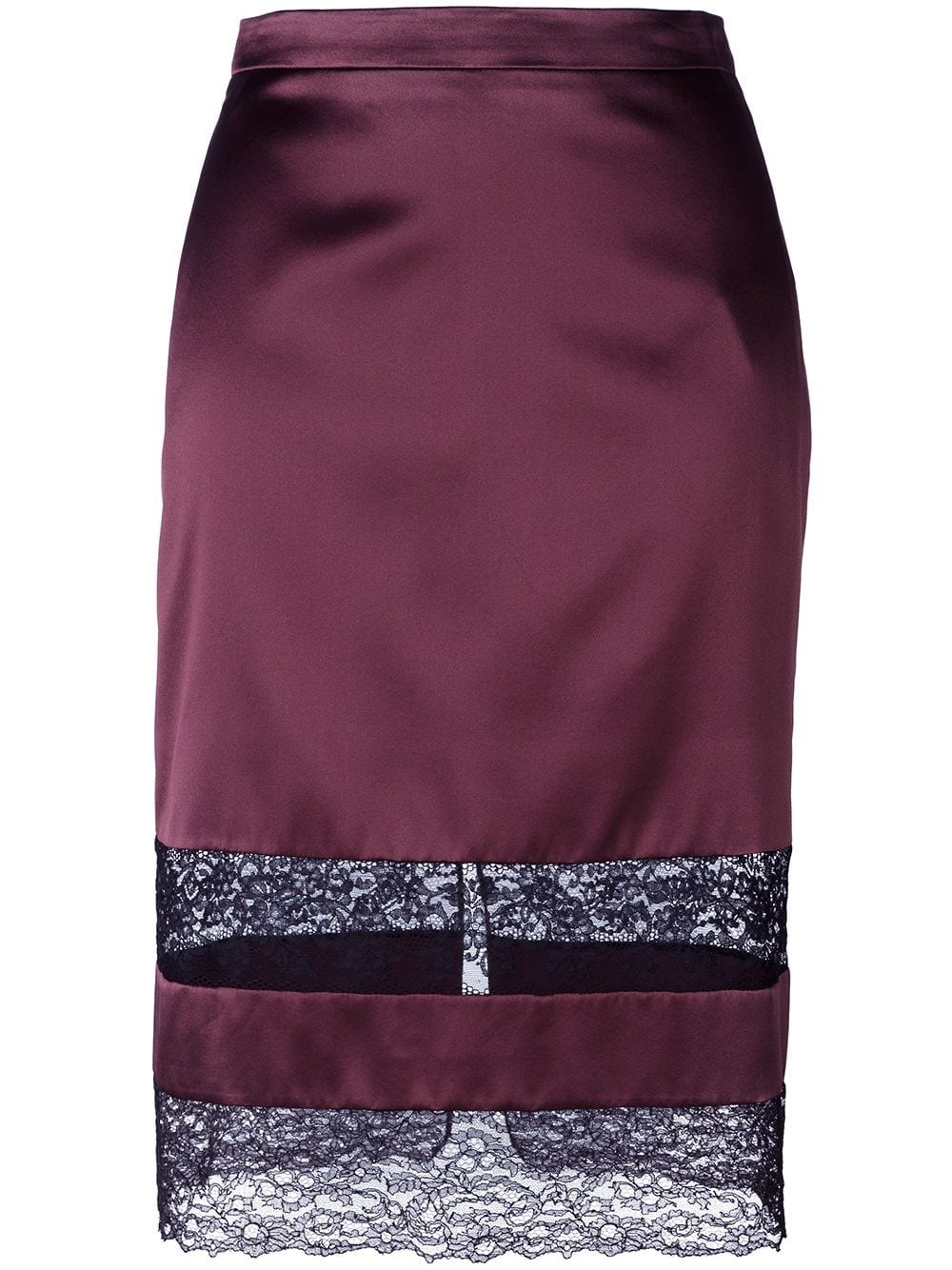 c80dd15be4 Givenchy lace panel pencil skirt - Red in 2019 | Products | High ...