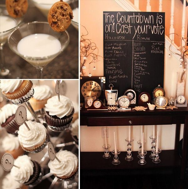 So Many Cute Ideas For A New Years Eve Gender Reveal Party Including Hot Chocolate Coffee With Diff Baby Gender Reveal Party Baby Reveal Party Reveal Parties