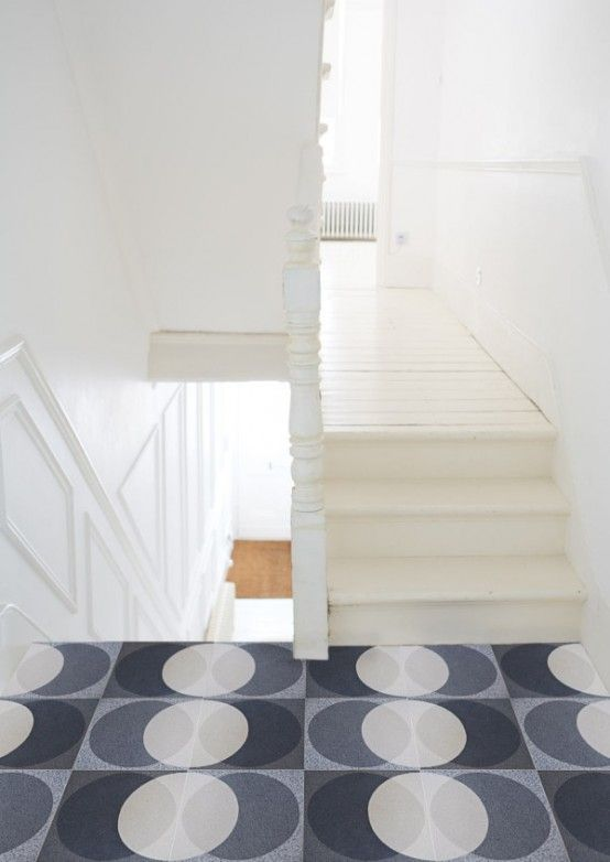 Unique Lindsey Lang Graphic Tiles | interior | Flooring | Pinterest ...