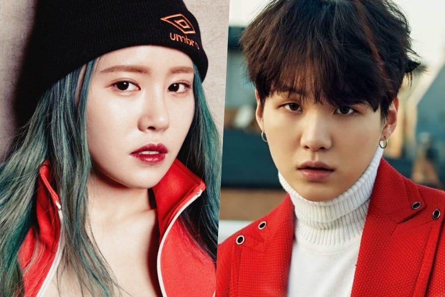 Suran Apologizes For And Clarifies Dating Rumors With Bts Suga Suran Suga Bts Suga