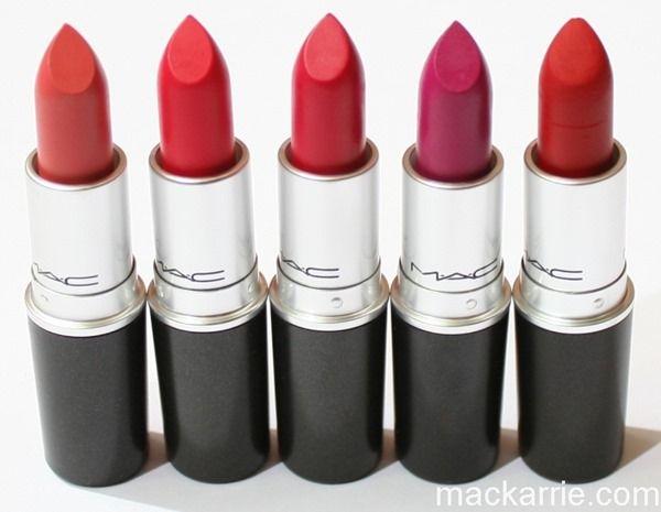Mac Retro Matte Lipstick Ruby Woo, 0.10 Ounce