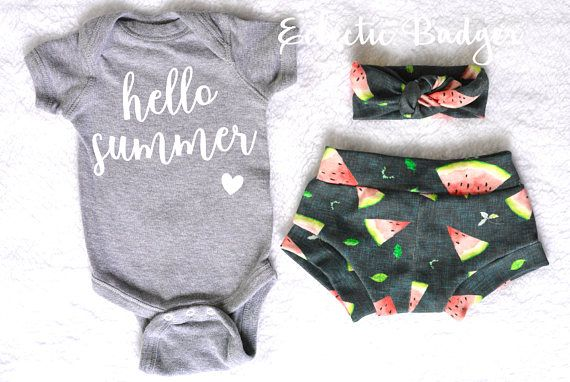 88e221b793b1 Summer outfit baby girl Newborn girl summer clothes Coming home outfit  summer Summer baby clothing Organic baby clothes Newborn girl summer This  adorable ...