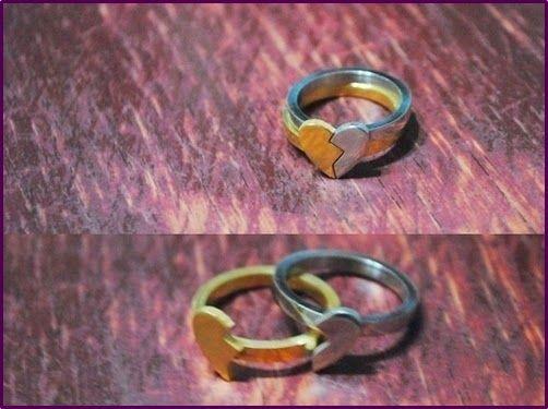 d201d1ef1e4 Dicas engraçadas e Inovadoras para Alianças de Casamento e Compromissos.  Aliança De Amizade