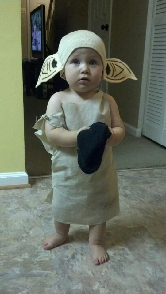 Baby dobby costume. Dobby House Elf baby halloween costume #harrypotter  sc 1 st  Pinterest : dobby the house elf costume  - Germanpascual.Com