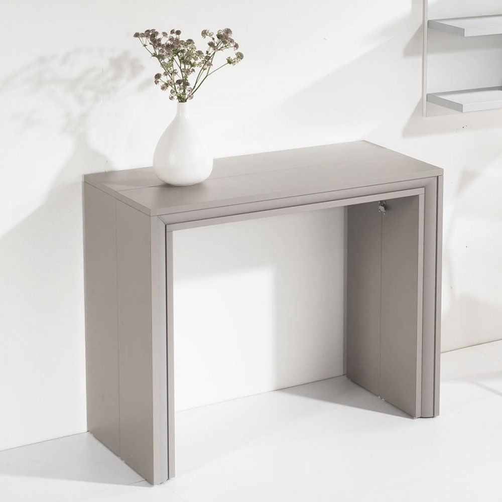 Console Extensible Ford Taupe Mat En 2019 Dinning Table