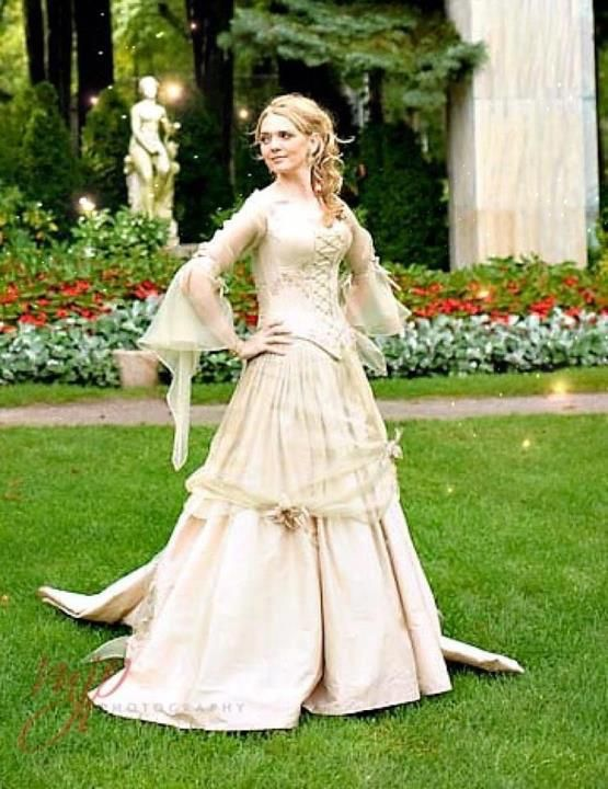Scottish Wedding Ideas Dress Celtic