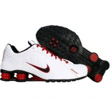 sneakers for cheap 61805 b9097 Nike Shox R4 104265 105 white black varsity red