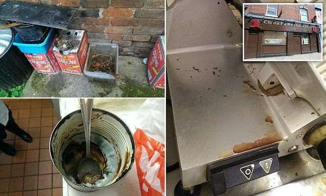 Filthy Chinese Restaurant Fined For Flouting Hygiene Rules Chinese Restaurant Hygiene Food Store