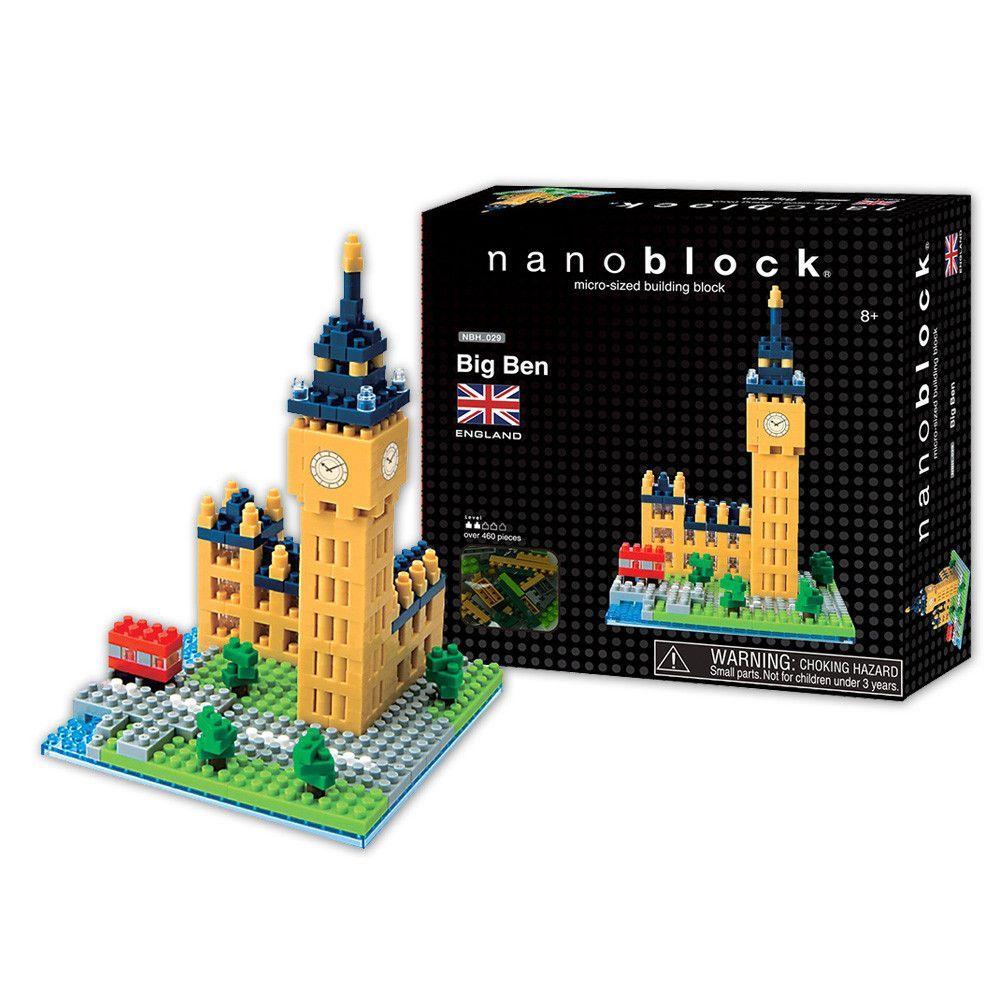 Nanoblock London Big Ben Building Kit