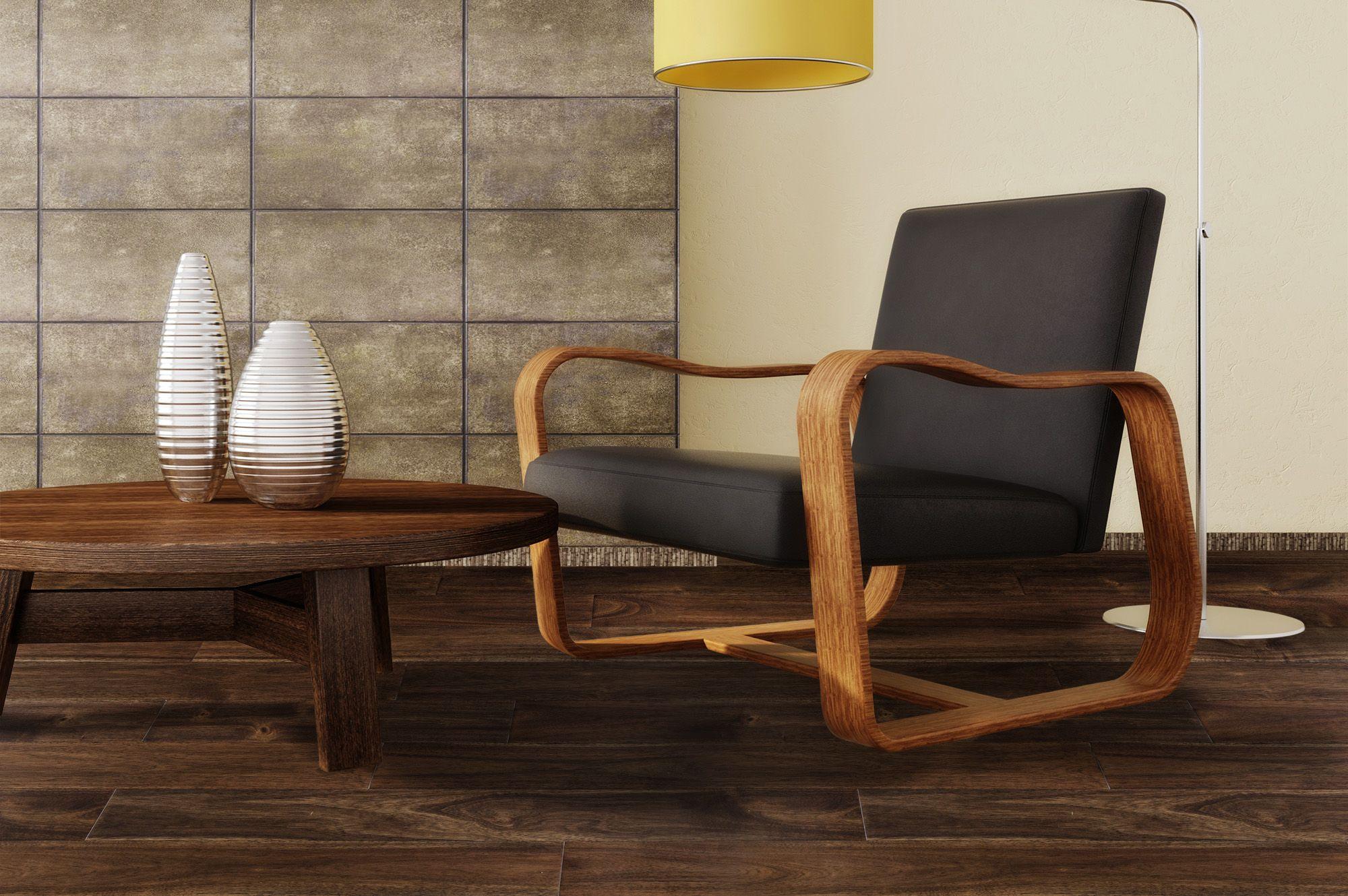"""Oolong Brown / Acacia / 4 7/8"""" Engineered hardwood"""