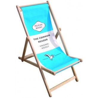 Penguin Book Classics Deck Chair Cool Deck Chair Featuring A Penguin Classic Book Cover Sear Fabric What A Clever Idea