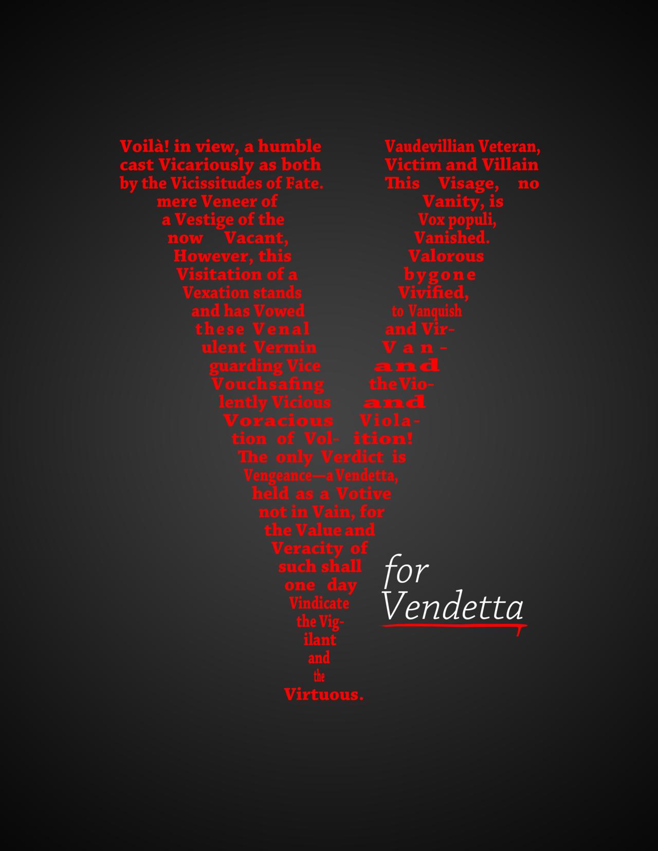 v for vendetta speech text