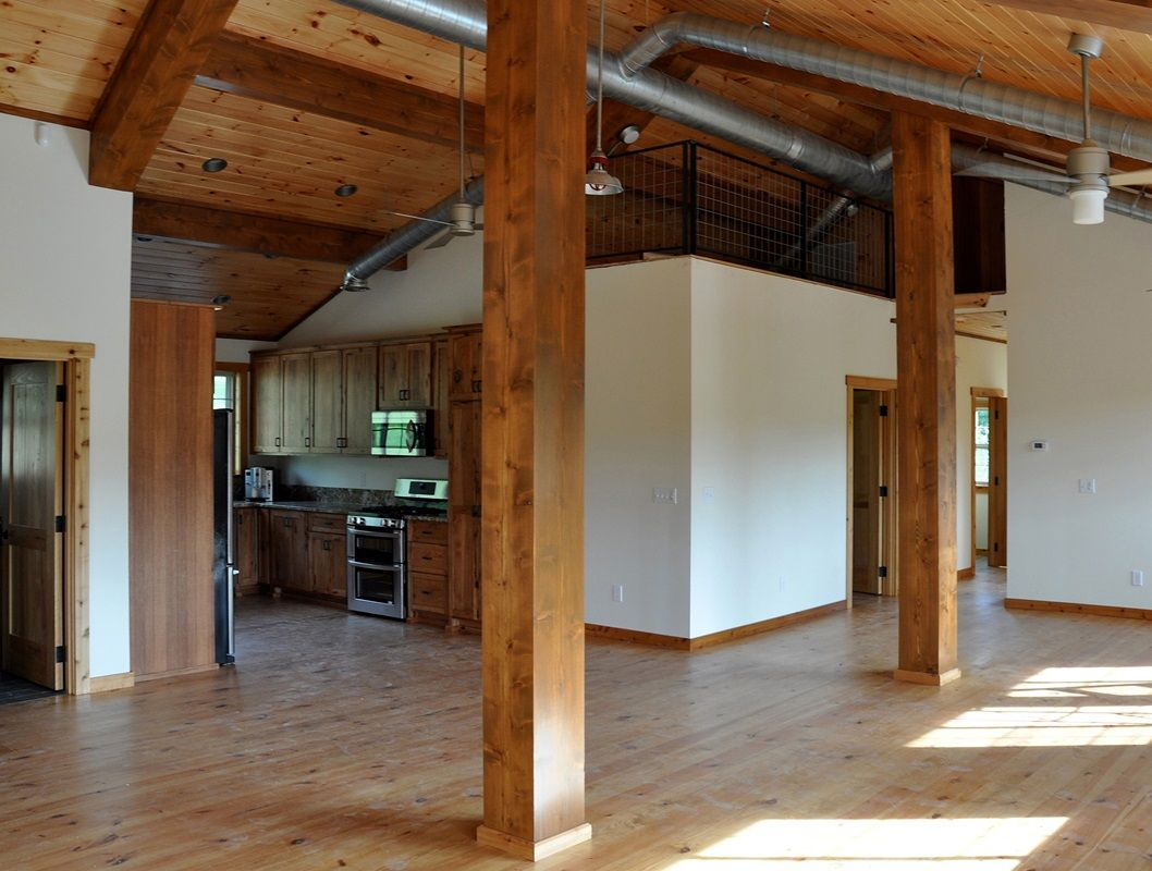 Barn with Living Quarters The Denali Garage Apt 48 - Barn Pros ...