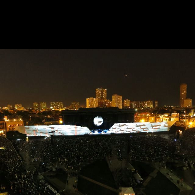 Roger Waters - The Wall at Wrigley Field. One of the greatest nights of my life, June 2012