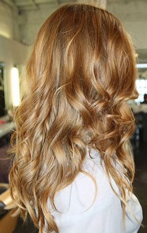 Butterscotch Bronde Hair Color | WINTER + FALL 2015 HAIR COLOR TRENDS GUIDE