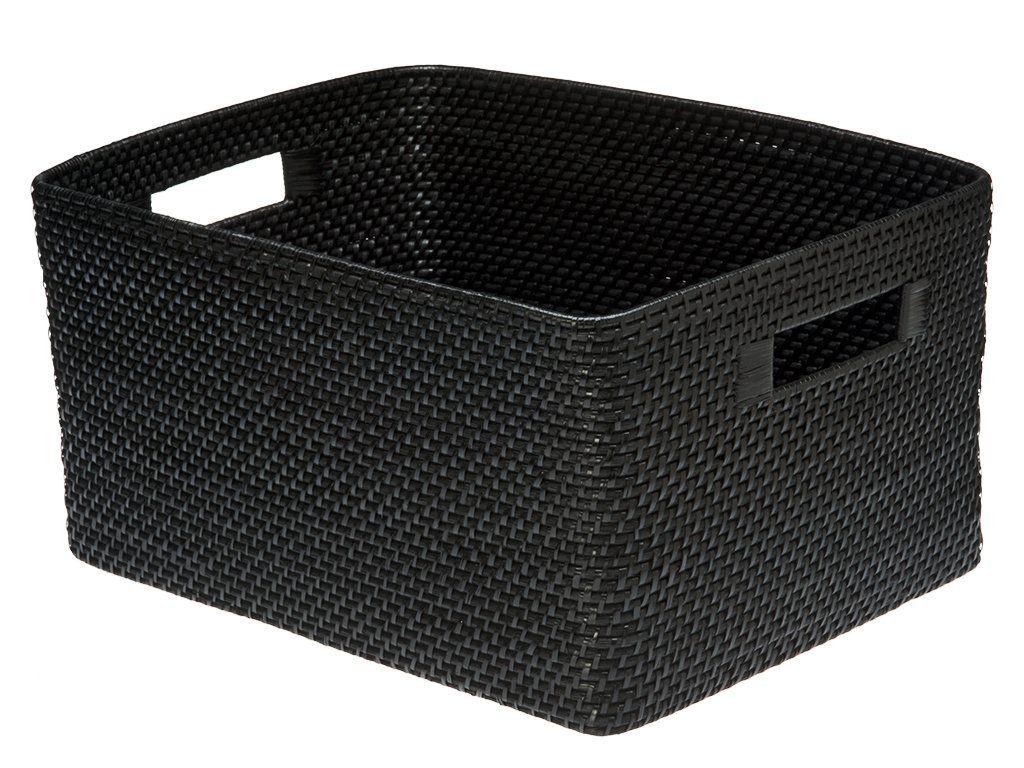 Rattan Basket In 2020 Storage Baskets Storage Bins Contemporary Baskets