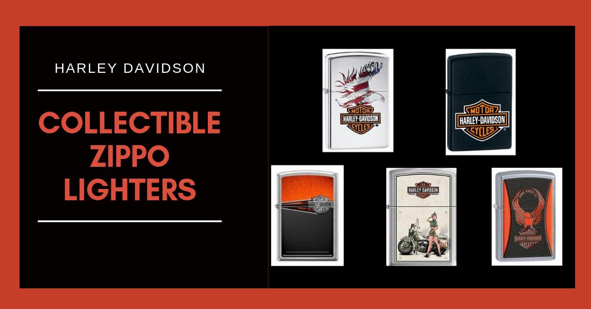 Harley Davidson Collectible Zippo Lighters Harley Davidson Themed