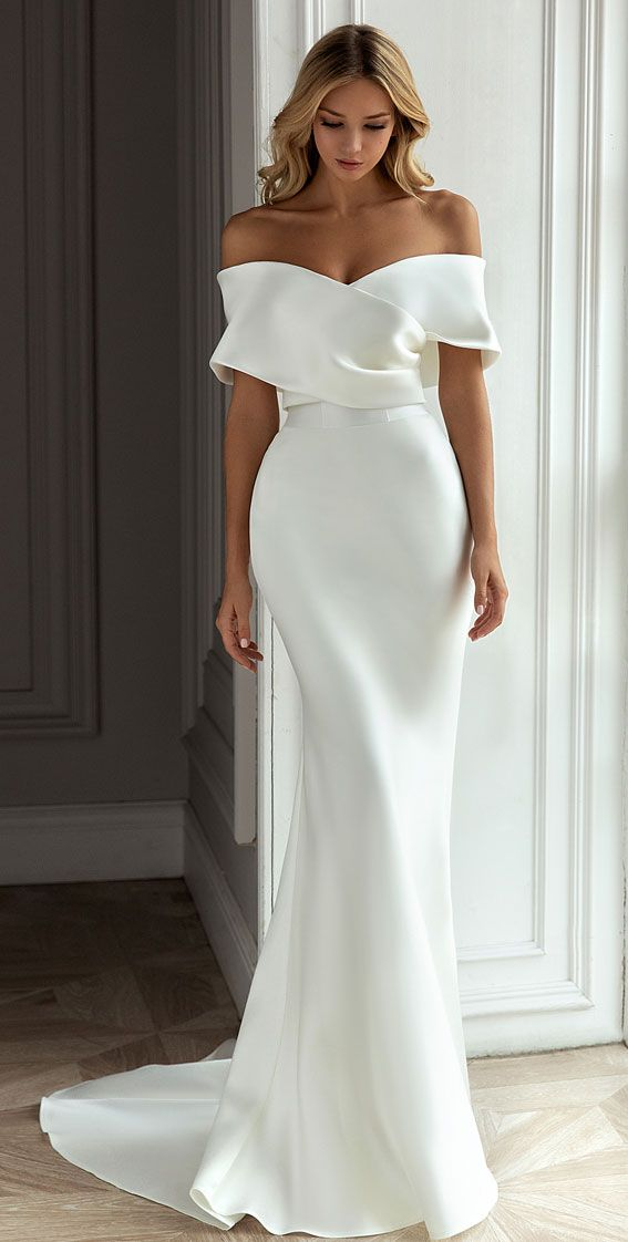 Eva Lendel Wedding Dresses - Less is More 2021 Bridal Collection