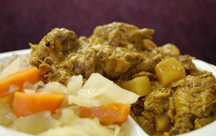 Easy jamaican curry chicken recipe home style jamaican jamaican dinners easy jamaican forumfinder Choice Image