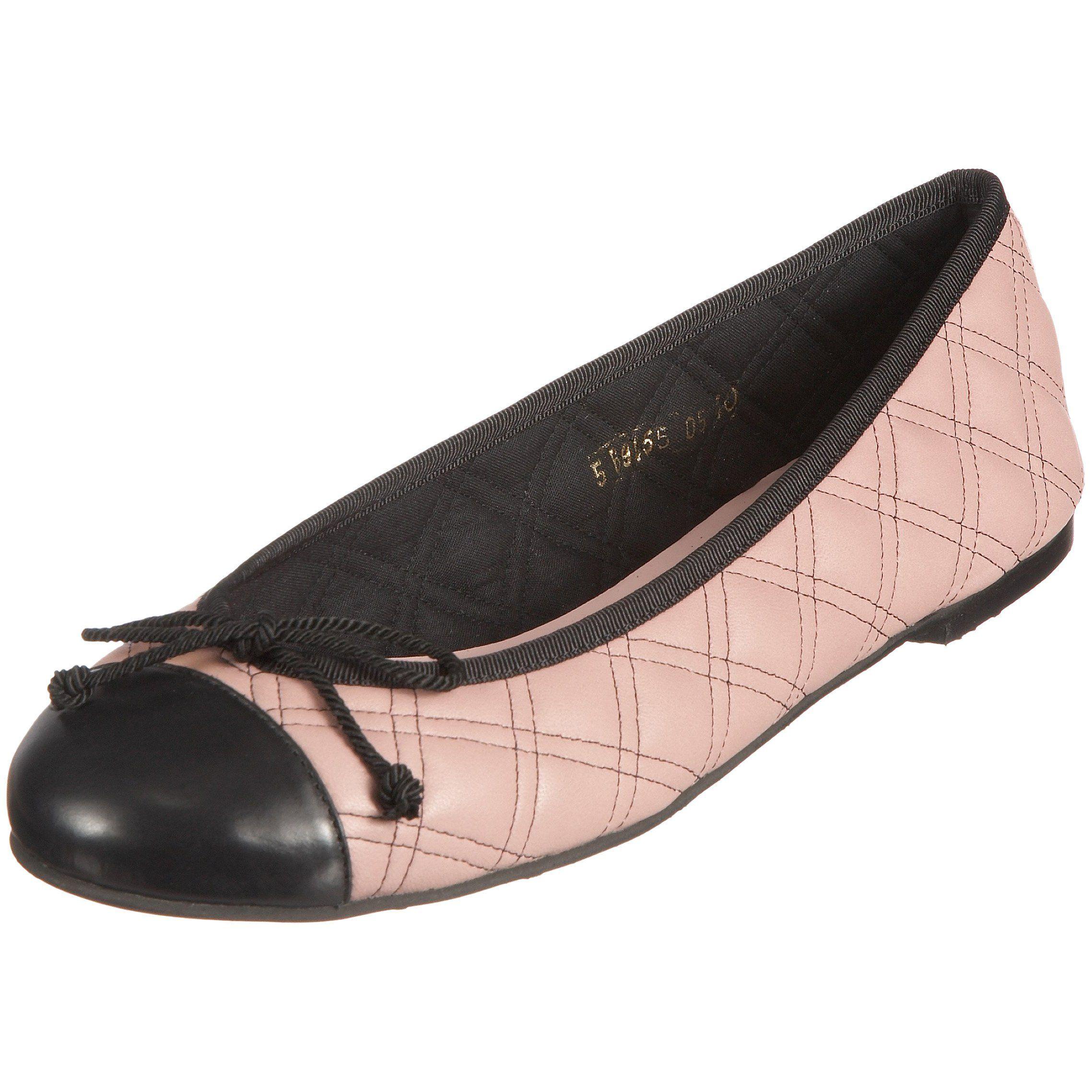 bf50975908a Pretty Ballerinas 38748 - Becerrito Negro + Coton Drome - Bailarinas para  mujer, color gris, talla 37: Amazon.es: Zapatos y complementos