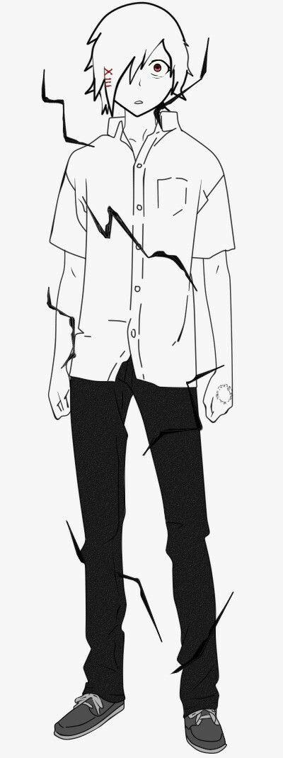 Creación de mi personaje :v r para una especie de manga que esto creando xd
