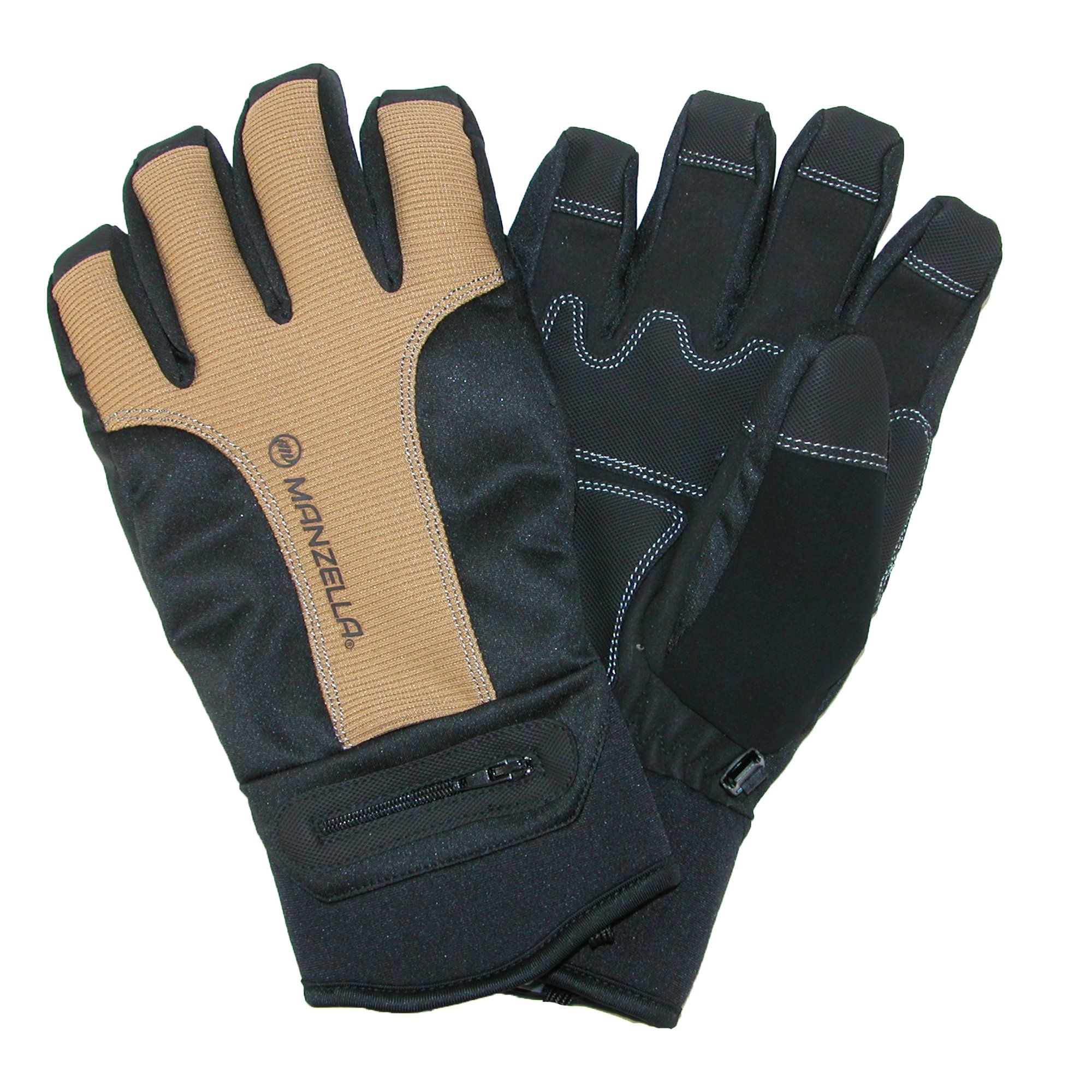 MANZELLA Silkweight Windstopper Ultra Touch Gloves MEN/'s Large ~NEW~