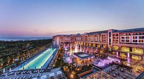 3 Empfohlene Golfhotels in der Türkei