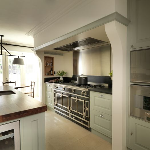 This Elegant, Classic Painted Kitchen Was Designed And