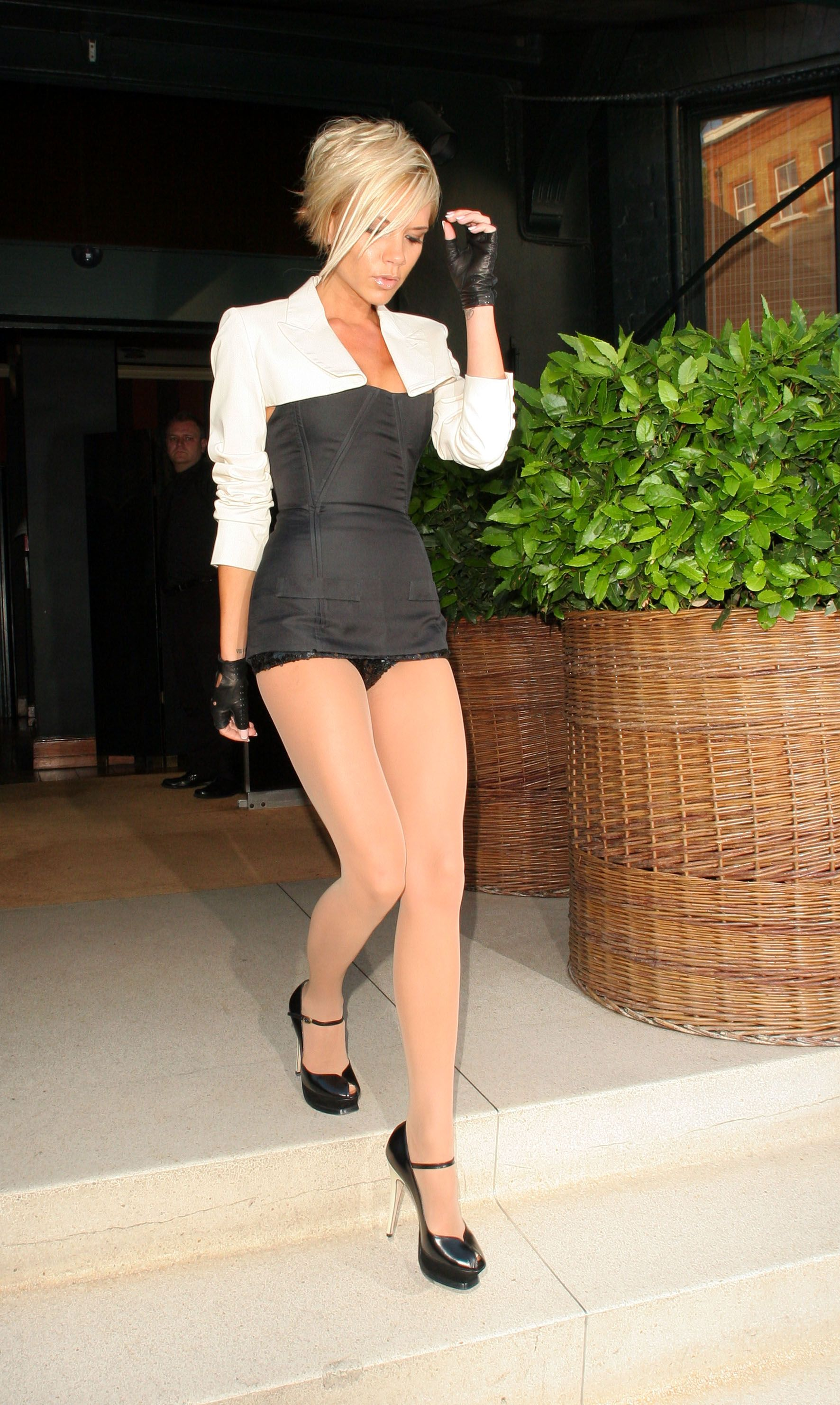 in Victoria pantyhose becham