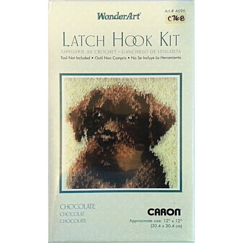 Wonderart Latch-Hook Kit La Palma 12 X 12