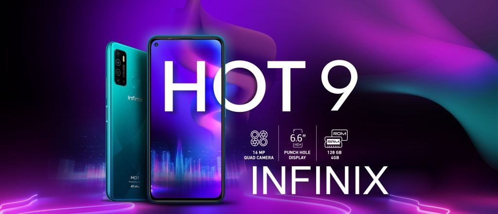 Infinix Hot 9 Launched In Indonesia Know The Specs In 2020 Finger Print Scanner Hole Punch Otg