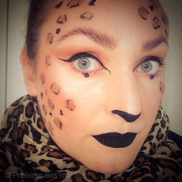 #happyhalloween #halloween #halloweenmakeup #leopard #leopardmakeup #shaaanxo @shaaanxo ❤️ #makeup