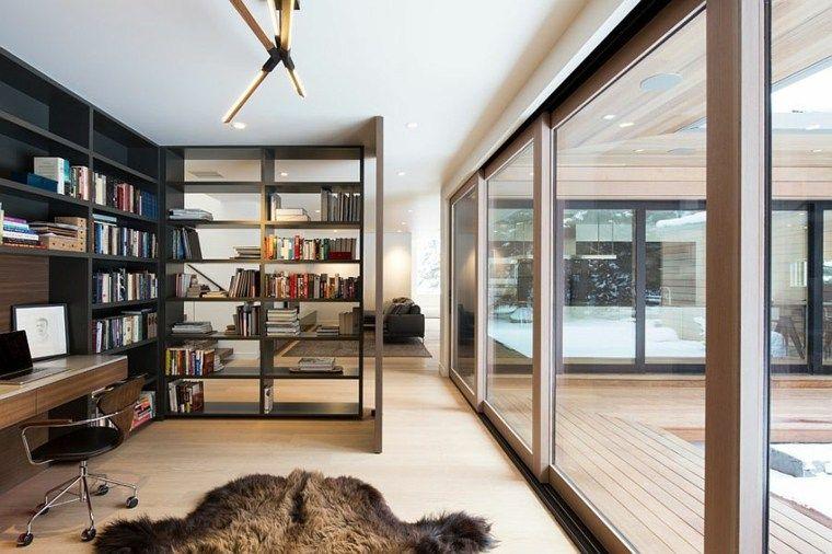 bureau scandinave 50 id es pour un coin de travail pratique deco pinterest bureau. Black Bedroom Furniture Sets. Home Design Ideas