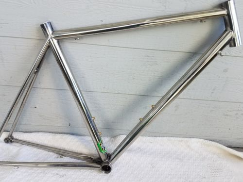 Rikulau Stainless Steel Rhygin Reynolds 953 Road Bike Frame ...