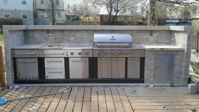 Shop Master Forge 6 Burner Modular Gas Grill At Lowes Com Outdoor