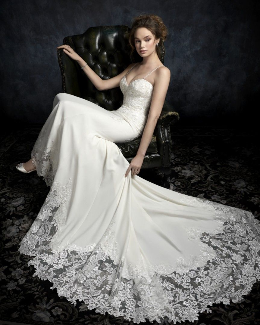 Wedding dresses for older ladies  Charlize  is an elegant bridal gown from Kenneth Winstonus