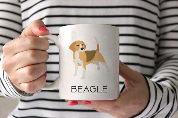 Beagle Coffee Mug Beagle Ceramic Mug Dog Mug Gift For Coffee