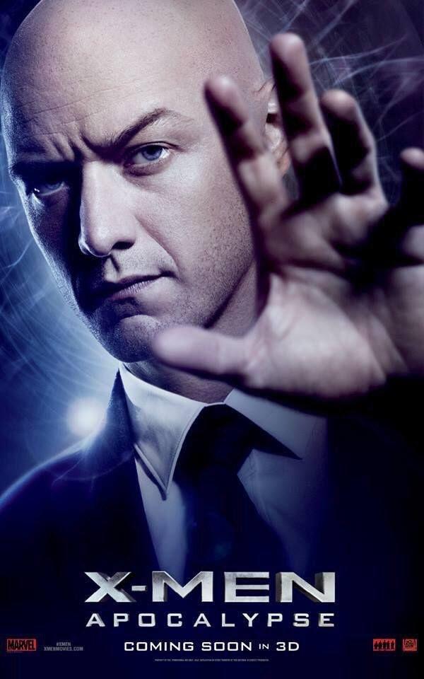 James McAvoy es Professor X  #XMen #Apocalypse