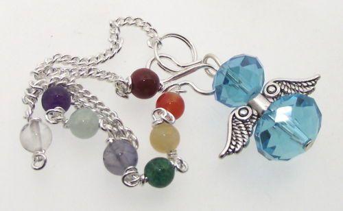 Blue-Crystal-Angel-Charm-Pendulum-Doswer-with-Chakra-Gemstone-Chain