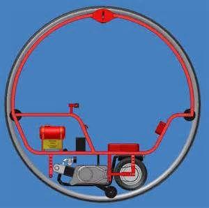 Redmax Monowheel With Images Retro Bike Bicycle Design