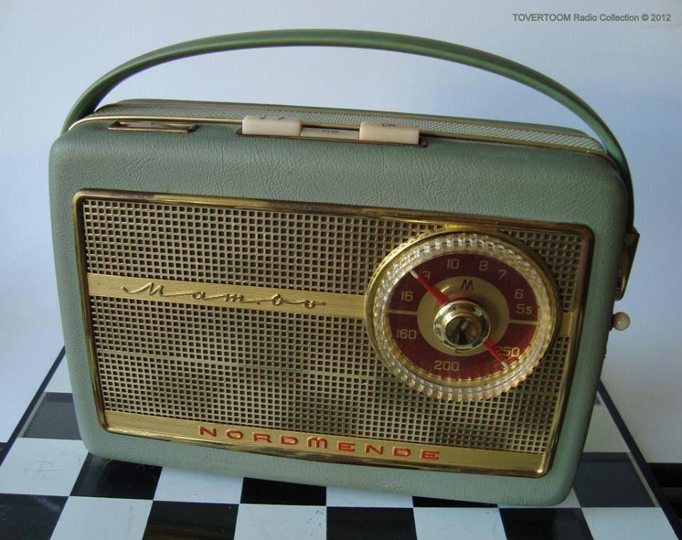 Nordmende Mambo 1961 Радио, Ретро