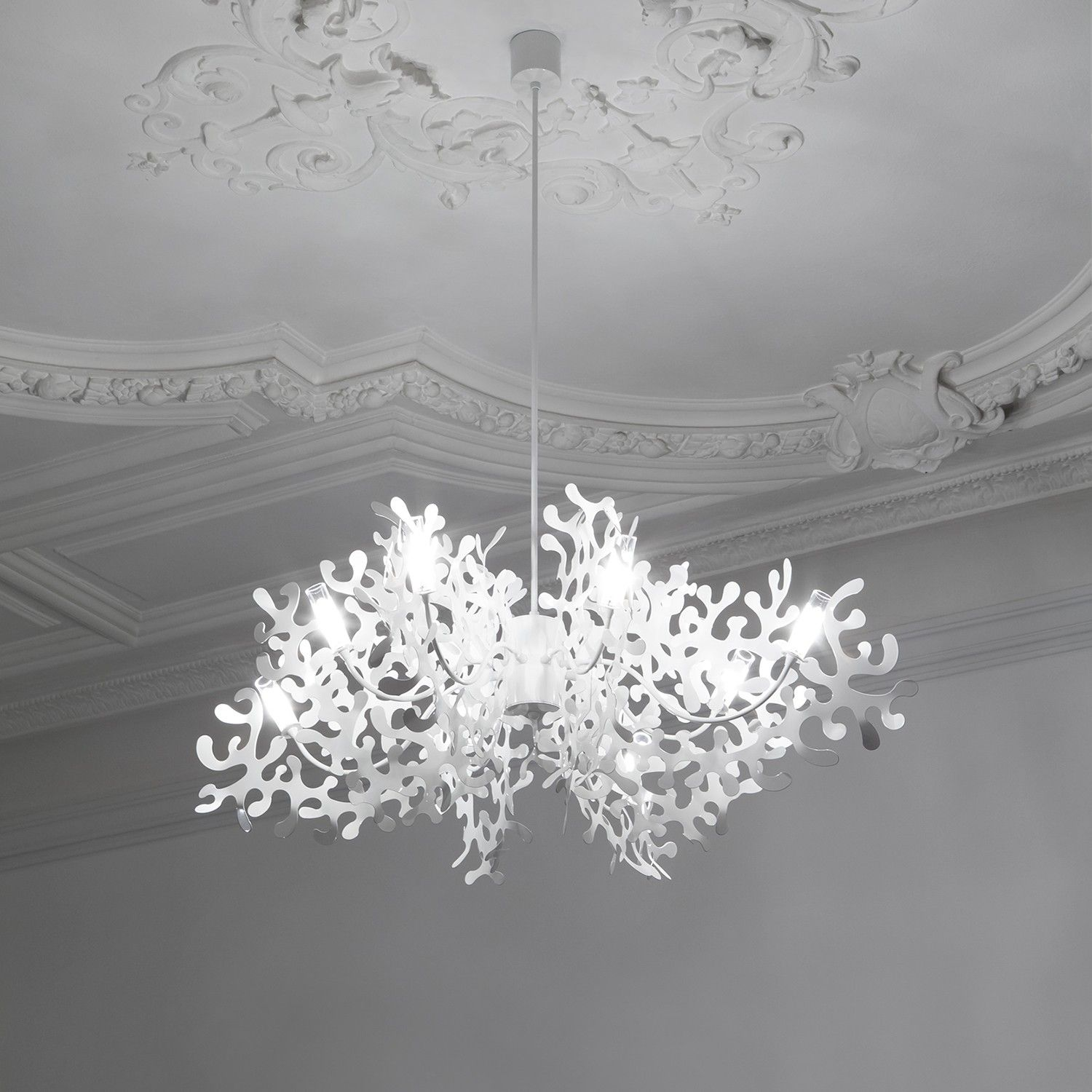 Coral chandelier chandeliers modern and lights coral chandelier aloadofball Gallery