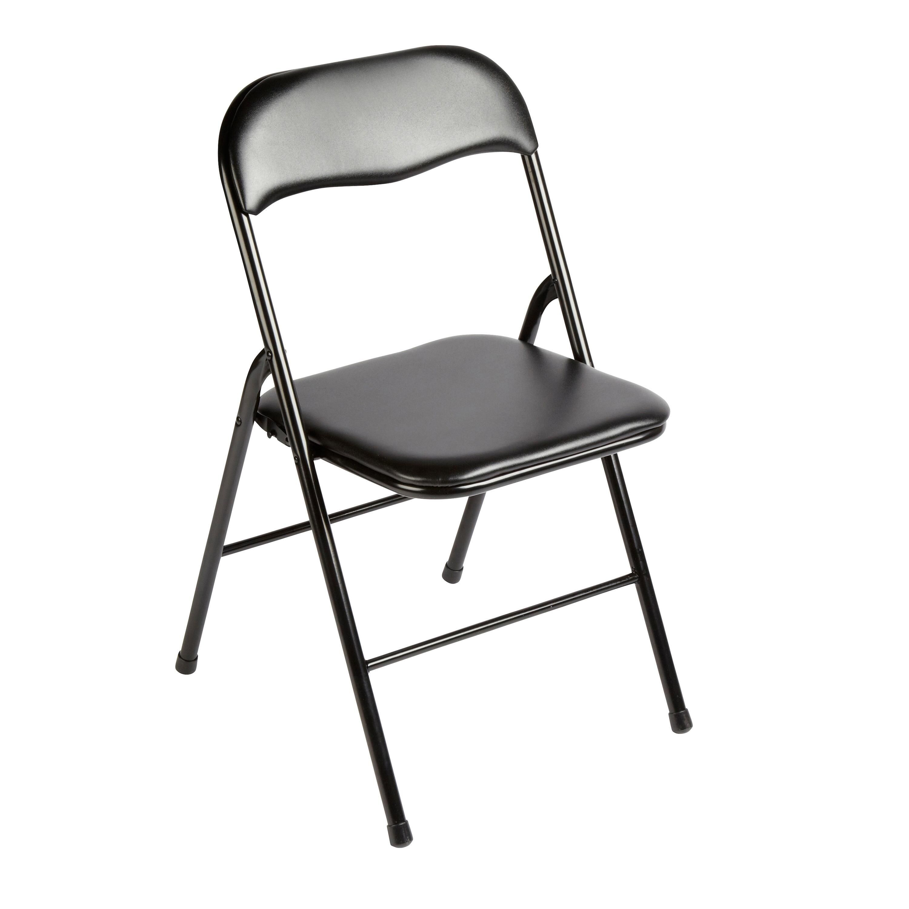 Padded Folding Chrome Metal Chair Folding Padded Chair With Images Metal Folding Chairs Folding Chair Card Table And Chairs