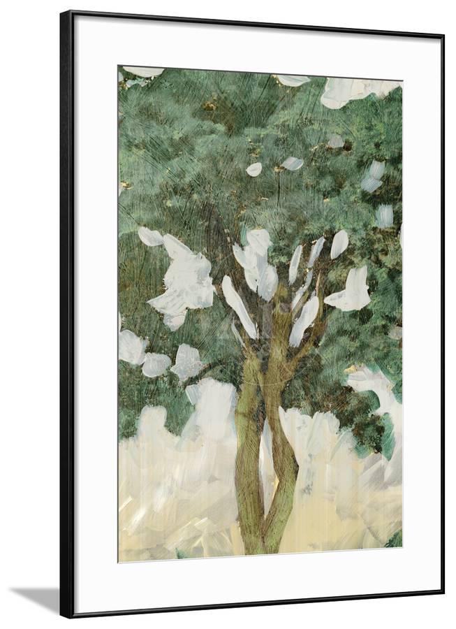 Green Tree Line Iii Art Print By Pi Studio Painting Prints
