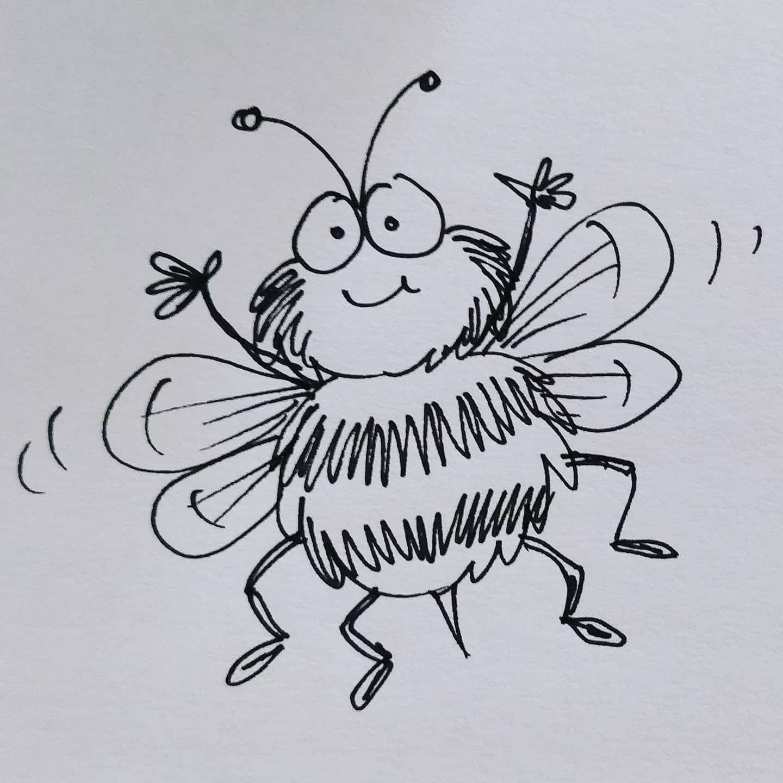 Draw This Bumble Bee Drawthis Bumblebee Bee Cartoonbee Doodleart Doodle Youtube In 2020 Bee Drawing Cartoon Bee Doodle Art