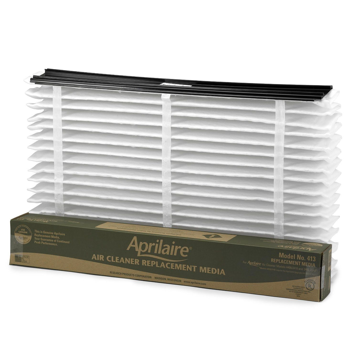 Aprilaire 413 Replacement Filter, Works with Model 4400