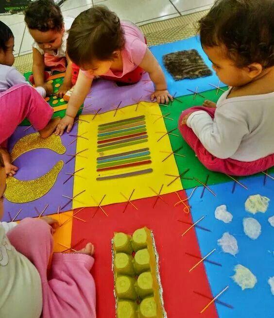 Alfombra actividades pinterest psicomotricidad fina materiales didacticos y didactico - Alfombra actividades bebe ...