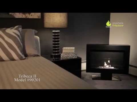 Anywhere Fireplace Tribeca Ii Free Standing Ethanol Fireplace