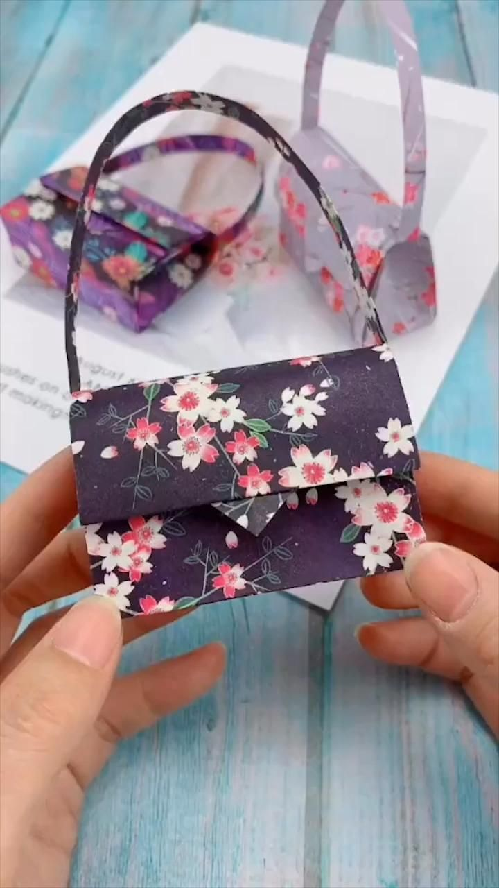 Creative Handicraft Video Paper Crafts Paper Crafts Diy Tutorials Paper Crafts Diy Kids